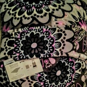 Vera Bradley Fleece Travel Blanket